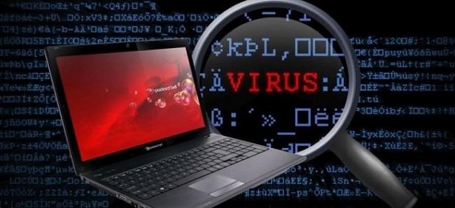 bàn phím bị liệt do virus trong máy