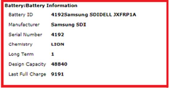kiểm tra độ chai pin laptop windows 7