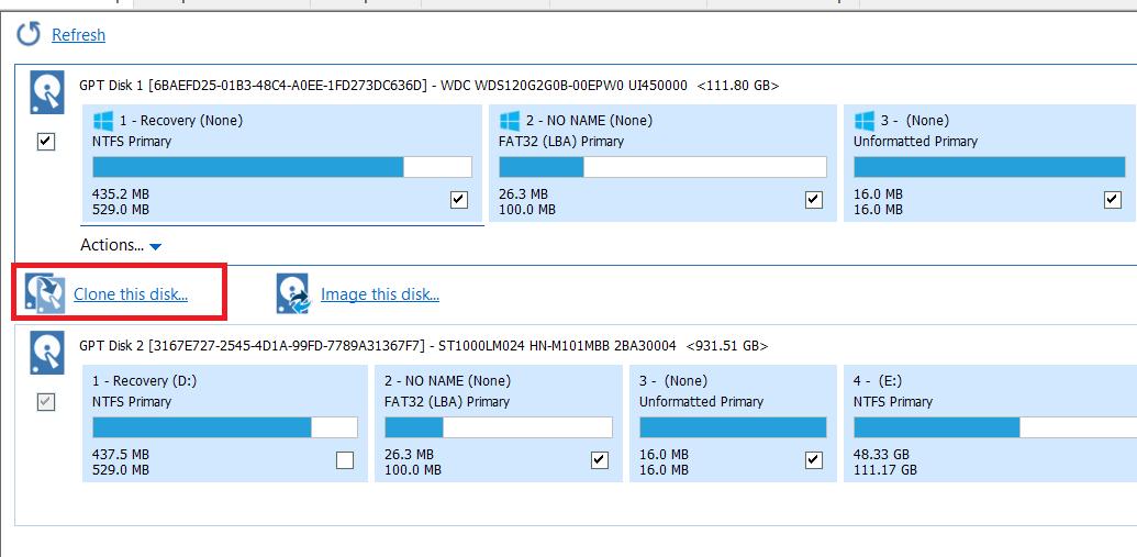 Cách copy dữ liệu từ ổ cứng này sang ổ cứng khác